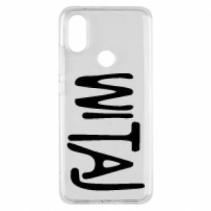Phone case for Xiaomi Mi A2 Witaj