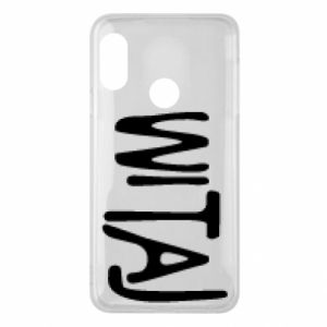 Phone case for Mi A2 Lite Witaj