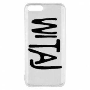 Phone case for Xiaomi Mi6 Witaj