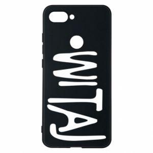Phone case for Xiaomi Mi8 Lite Witaj