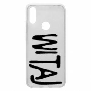 Phone case for Xiaomi Redmi 7 Witaj