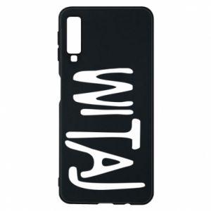 Phone case for Samsung A7 2018 Witaj