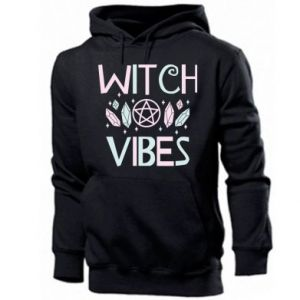 Men's hoodie Witch vibes