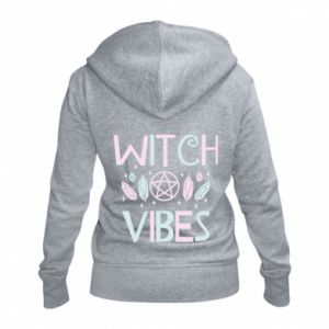 Damska bluza na zamek Witch vibes