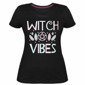 Damska premium koszulka Witch vibes