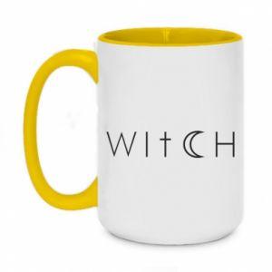 Kubek dwukolorowy 450ml Witch