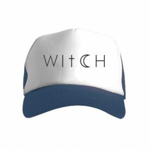 Czapka trucker dziecięca Witch