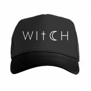 Trucker hat Witch