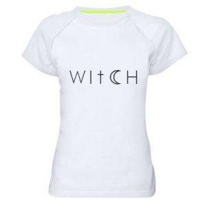 Koszulka sportowa damska Witch