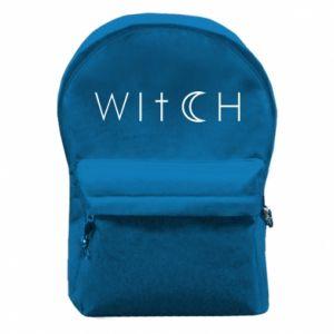 Plecak z przednią kieszenią Witch