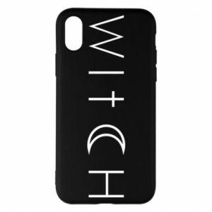 Etui na iPhone X/Xs Witch