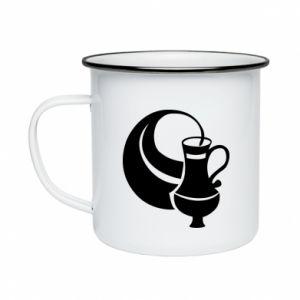 Enameled mug Aquarius - PrintSalon