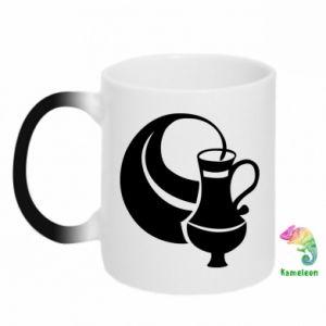 Chameleon mugs Aquarius - PrintSalon