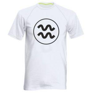 Men's sports t-shirt Aquarius