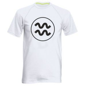 Męska koszulka sportowa Wodnik