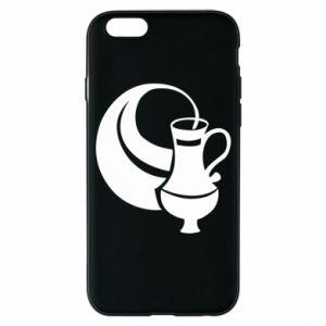 Phone case for iPhone 6/6S Aquarius - PrintSalon