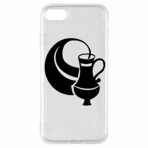 Phone case for iPhone 7 Aquarius - PrintSalon