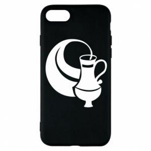 Phone case for iPhone 8 Aquarius - PrintSalon