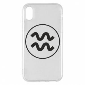 iPhone X/Xs Case Aquarius