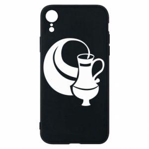 Phone case for iPhone XR Aquarius - PrintSalon