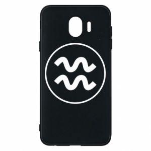 Samsung J4 Case Aquarius