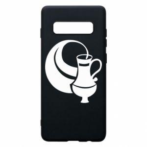 Phone case for Samsung S10+ Aquarius - PrintSalon