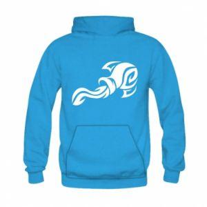 Kid's hoodie Aquarius