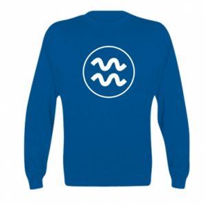 Kid's sweatshirt Aquarius