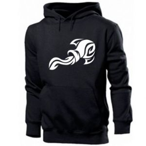Men's hoodie Aquarius
