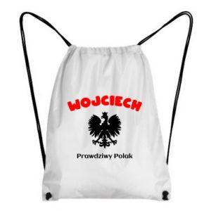 Plecak-worek Wojciech jest prawdziwym Polakiem