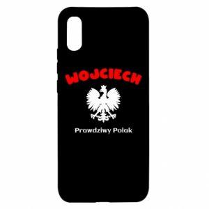 Phone case for Samsung A40 Wojciech is a real Pole - PrintSalon