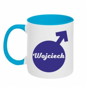 Two-toned mug Wojciech