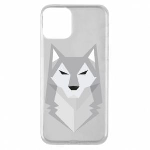 Etui na iPhone 11 Wolf graphics minimalism