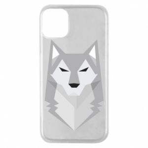 Etui na iPhone 11 Pro Wolf graphics minimalism