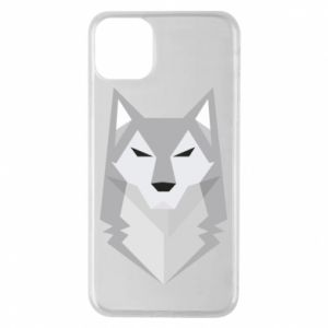 Etui na iPhone 11 Pro Max Wolf graphics minimalism