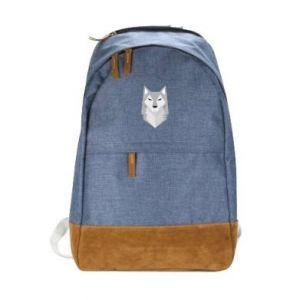 Urban backpack Wolf graphics minimalism