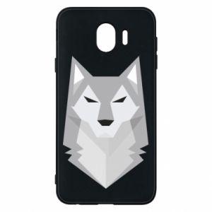Phone case for Samsung J4 Wolf graphics minimalism - PrintSalon
