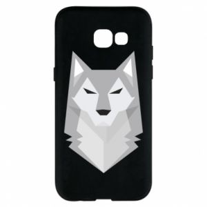 Phone case for Samsung A5 2017 Wolf graphics minimalism - PrintSalon