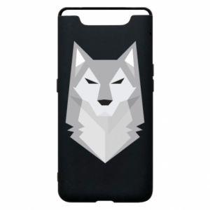 Phone case for Samsung A80 Wolf graphics minimalism - PrintSalon
