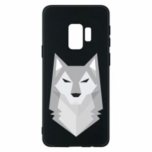 Phone case for Samsung S9 Wolf graphics minimalism - PrintSalon