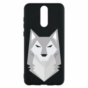 Phone case for Huawei Mate 10 Lite Wolf graphics minimalism - PrintSalon