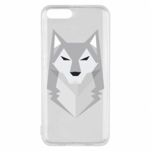 Phone case for Xiaomi Mi6 Wolf graphics minimalism - PrintSalon