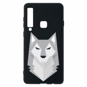Phone case for Samsung A9 2018 Wolf graphics minimalism - PrintSalon
