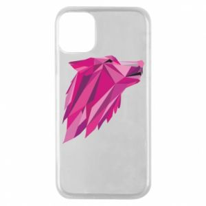 Etui na iPhone 11 Pro Wolf graphics pink