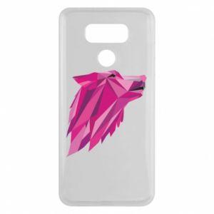 Etui na LG G6 Wolf graphics pink