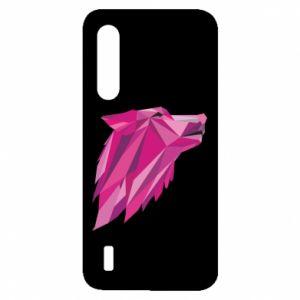 Etui na Xiaomi Mi9 Lite Wolf graphics pink