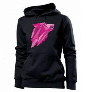 Damska bluza Wolf graphics pink