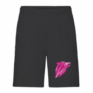Men's shorts Wolf graphics pink