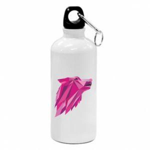 Bidon turystyczny Wolf graphics pink