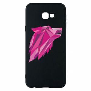 Etui na Samsung J4 Plus 2018 Wolf graphics pink